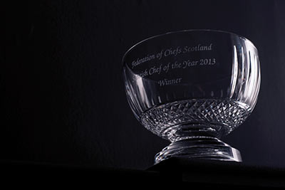 Scottish Chef of the Year 2013 award