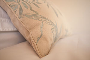 Pillow detail
